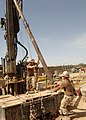 US Navy 100427-N-8816D-110 Seabees assigned to the water well detachment of Naval Mobile Construction Battalion (NMCB) 133.jpg