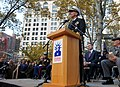 US Navy 111111-N-AW702-009 Chief of Naval Operations Adm. Jonathan W. Greenert delivers remarks at Madison Square Park during a Veteran's Day parad.jpg