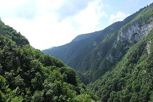 Ugar (river) - Ugar River Canyon