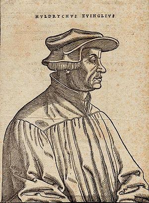 Theology of Huldrych Zwingli - Huldrych Zwingli, woodcut by Hans Asper, 1531
