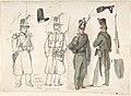 Uniforms of the civil guard in Courtray, Belgium MET DP807972.jpg