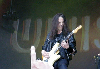 Mandy Meyer Swiss-Canadian guitarist (born 1960)
