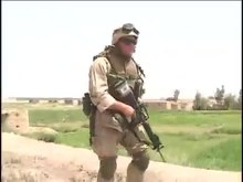 File:United States Marine Corps 4th Light Armored Battalion in Iraq, June 2003.webm