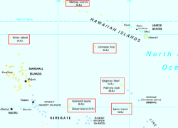 United States Minor Outlying Islands Wikipedia - Us pacific islands map