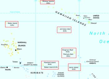 Location of Saint Marina Islands