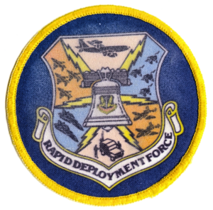 Rapid Deployment Joint Task Force - Image: United States Rapid Deployment Forces USAF emblem
