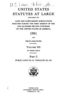United States Statutes at Large Volume 105 Part 2.djvu