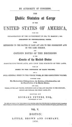 United States Statutes at Large Volume 5.djvu