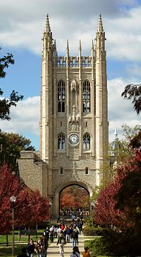 Tower of Memorial Union