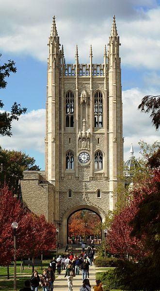 Columbia, Missouri - The Memorial Union at the University of Missouri