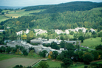 Education in Scotland in the twentieth century - The purpose-built modern buildings of the University of Stirling