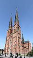 Uppsala cathedral from southwest.jpg