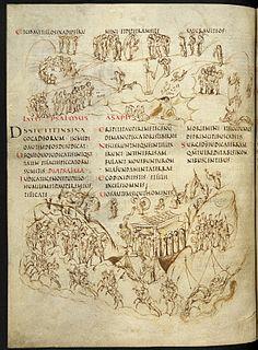 ninth-century illuminated psalter