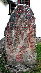 Vårkumla kyrka Runsten (Vg 139) 2009-07-15.jpg