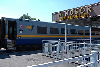 LRC (train) - VIA 1 LRC at Windsor