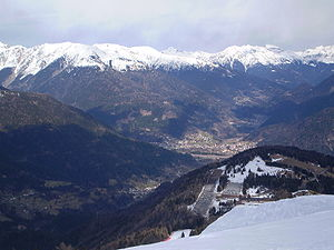 Paluzza - View from Monte Zoncolan