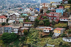 The Amazing Race 16 - The mountainous Chilean town of Valparaíso was the first destination in the 16th season of The Amazing Race after teams started off at Vista Hermosa Natural Park in Los Angeles.