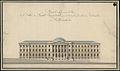 Valtioneuvoston linnan alkuperäispiirustus, Senaatintorin puoli.jpg