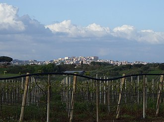 Velletri - Panorama of Velletri