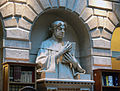 Venezia - Biblioteca Marciana - Reading room - statue of Petrarca.JPG