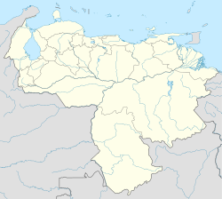 Caracas is located in Venezuela