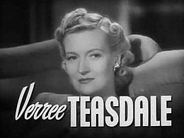 Verree Teasdale in Come Live With Me trailer.JPG