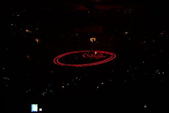"One (U2 song) - Cellphones open as ""One"" is performed on the Vertigo Tour, Madison Square Garden, 14 October 2005."