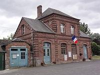 Vesles-et-Caumont (Aisne) mairie.JPG