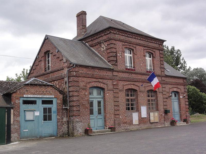 Vesles-et-Caumont (Aisne) mairie