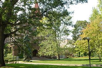 Victoria University, Toronto - The main quadrangle of Victoria College, University of Toronto, Toronto, Ontario
