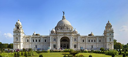 The Victoria Memorial in Kolkata, India Victoria Memorial situated in Kolkata.jpg