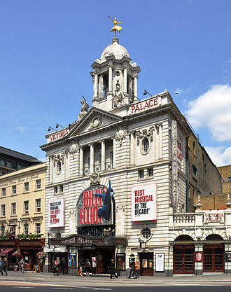Victoria Palace Theatre - Billy Elliot the Musical playing at the Victoria Palace