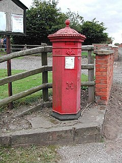 Budby village in United Kingdom
