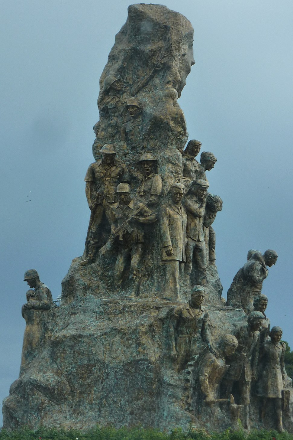 Victory monument in Famagusta