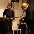 Vienna 2013-11-21 Porgy+Bess - RAU sound recording, Johannes Groysbeck (l), Fritz Novotny.jpg