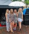 Vier mannequins modeshow in Spijkenisse.jpg