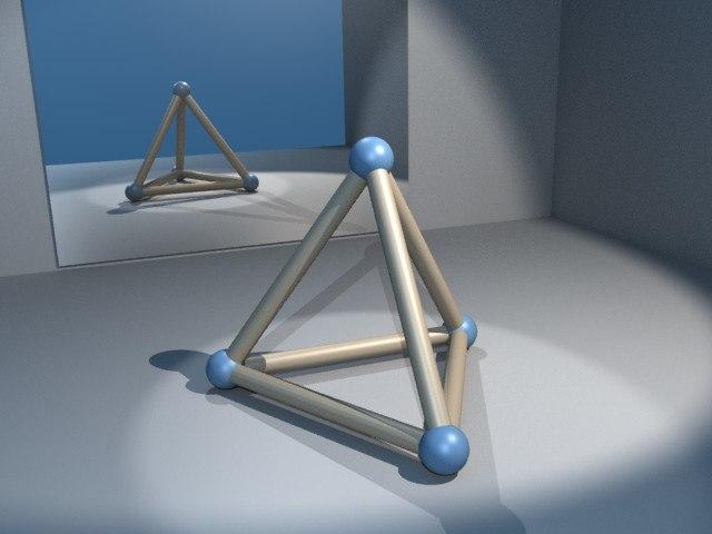 Viervlak-frame
