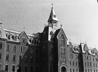 Collège Lionel-Groulx - Seminary of St. Therese in 1948