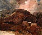 View of Fort Picu on the island of Madeira by Karl Briullov.jpg