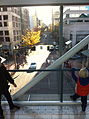 View of street from Pioneer Place Skybridge.jpg