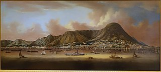 View of the City of Victoria, Hong Kong, by Sunqua