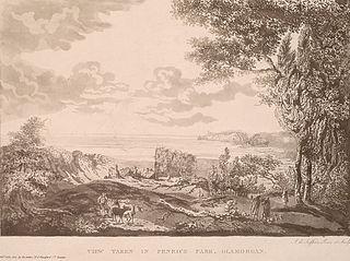 View taken in Penrice park, Glamorgan