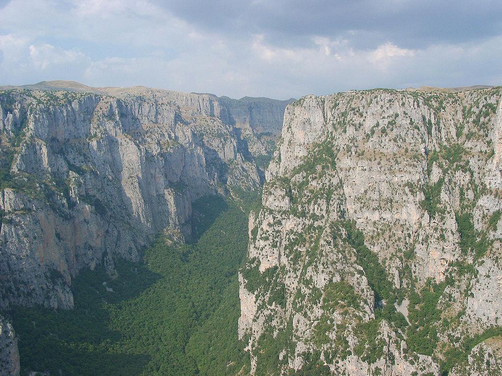 File:Vikos Gorge, Epirus, Greece.jpg