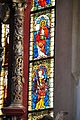 Viktring Stiftskirche Glasmalereien rechtes Fenster Apostel oberer Teil 07052011 337.jpg