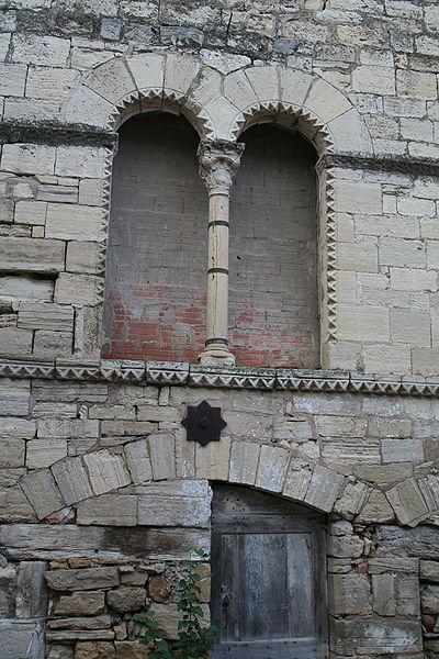 Villemagne-l'Argentière (Hérault) - Maison des Monnaies - fenêtre 1