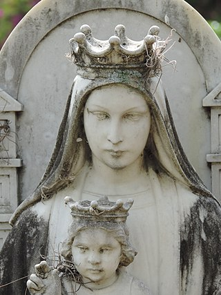 Virgen de Coromoto. Cementerio General del Sur. Caracas.jpg