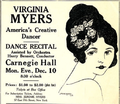 Virginia Myers at 16 - Second Carnegie Hall Concert.png
