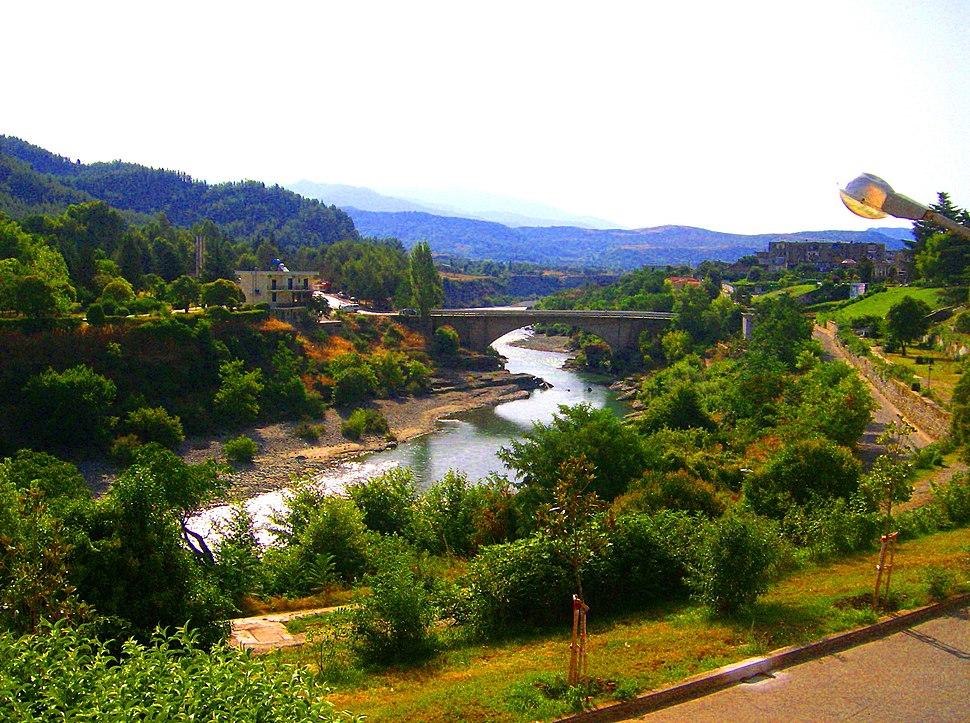 Vjosë river, Përmet, Albania - 20070825