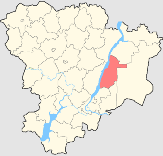 Bykovsky District - Image: Volgogradskaya oblast Bykovsky rayon