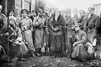 Russian Civil War - Anti-Bolshevik Volunteer Army in South Russia, January 1918